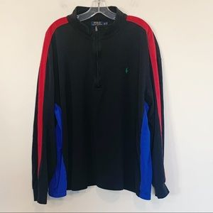 Polo Ralph Lauren Quarter Zip Pullover 3XB Big